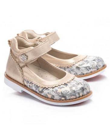 Ортопедические туфли Theo Leo 1135 р. 23-33 Бежевые