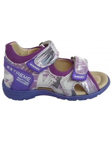 Ортопедические босоножки Minimen 79FIOLETXL20 р. 25-36 Фиолетовый