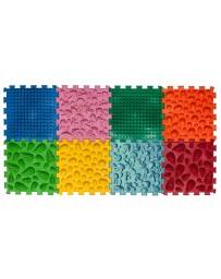 Массажный коврик «Пазлы Микс», 8 пазлов