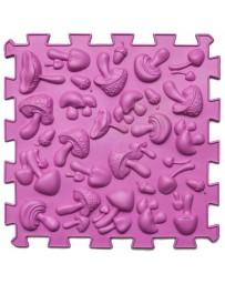 Массажный коврик «Пазлы Микс» Грибы, 1 элемент