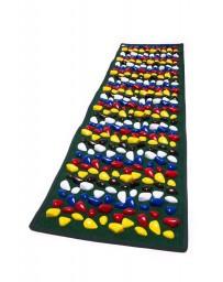 Массажный коврик с камушками «Ортопед» 200x40