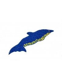 """Коврик массажный с камушками """"Дельфин"""", 150х50 см"""
