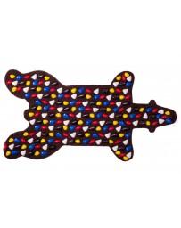 """Коврик массажный с камушками """"Медведь"""", 94х50 см"""