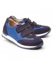 Ортопедические кроссовки Theo Leo 1148 р. 26-38 Сине-голубые