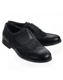 Анатомические туфли Theo Leo 488 р. 31-40 Черные
