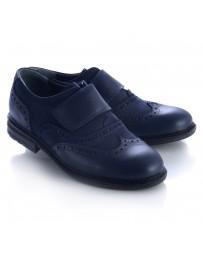 Анатомические туфли Theo Leo 470 р. 31-40 Синие