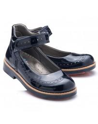 Ортопедические туфли Theo Leo 778 р. 28-35 Синий лак