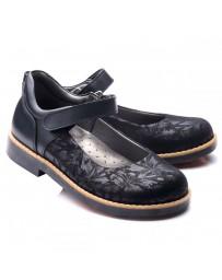 Ортопедические туфли Theo Leo 742 р. 28-35 Черные