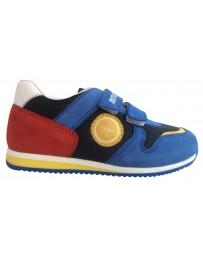 Ортопедические кроссовки Minimen 86SPORT р. 21-30 Голубой с красным