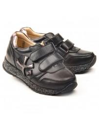Ортопедические кроссовки Theo Leo 1156 р. 30-40 Черные