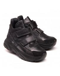 Ортопедические ботинки Theo Leo 1161 р. 26-38 Черные