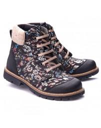 Ортопедические ботинки Theo Leo 1168 р. 26-36 Черные