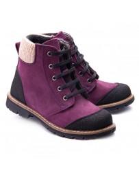 Ортопедические ботинки Theo Leo 1169 р. 26-36 Фиолетовые
