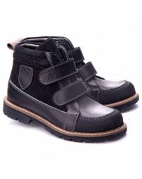 Ортопедические ботинки Theo Leo 1163 р. 23-36 Черные