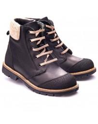 Ортопедические ботинки Theo Leo 1171 р. 26-40 Черные