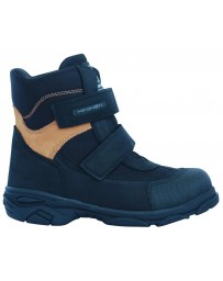 Зимние ботинки Minimen 15BLACK20 р. 22-30 Черный с коричневым
