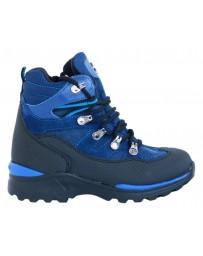 Зимние ботинки Minimen 3SHNUR20 р. 31-40 Синий