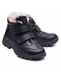 Зимние ботинки Theo Leo 850 р. 26-40 Черные