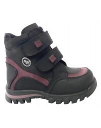Ортопедические ботинки Perlina 91BLACK20 р. 22-26 Черный