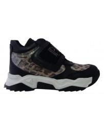 Ортопедические ботинки Perlina 107TIGR р. 31-36 Черный