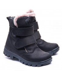 Зимние ботинки Theo Leo 1176 р. 26-40 Черные