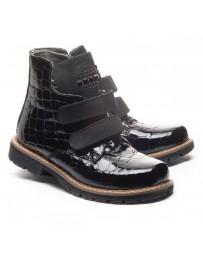 Ортопедические ботинки Theo Leo 1181 р. 26-40 Черные