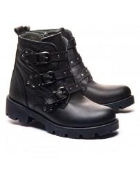Ортопедические ботинки Theo Leo 1182 р. 33-38 Черные