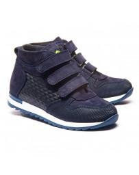 Ортопедические ботинки Theo Leo 1179 р. 23-40 Синие