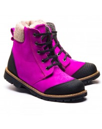 Зимние ботинки Theo Leo 1177 р. 26-36 Розовые