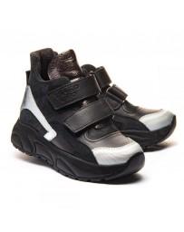Ортопедические ботинки Theo Leo 1183 р. 26-40 Черные