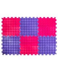 Акупунктурный массажный коврик «Лотос», 6 пазлов