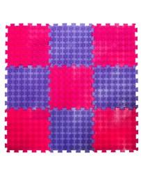 Акупунктурный массажный коврик «Лотос», 9 пазлов