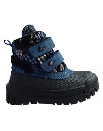 Зимние ботинки Minimen 12NEWSINIY р. 26-36 Синий