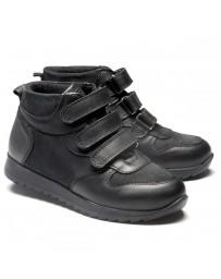 Ортопедические ботинки Theo Leo 1199 р. 26-40 Черные