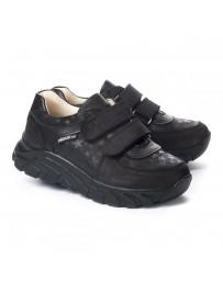 Ортопедические кроссовки Theo Leo 1203 р. 26-40 Черные