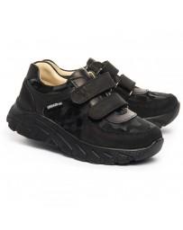 Ортопедические кроссовки Theo Leo 1207 р. 26-40 Черные