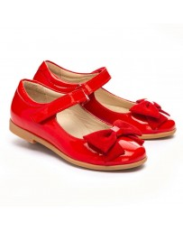 Ортопедические туфли Theo Leo 1224 р. 26-36 Красный лак