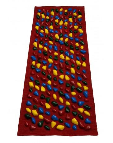 Массажный коврик «с камушками», 100*40 см
