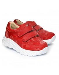 Ортопедические кроссовки Theo Leo 1272 р. 26-40 Красные