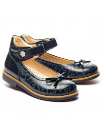 Ортопедические туфли Theo Leo 1325 р. 28-35 Синие