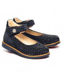 Ортопедические туфли Theo Leo 1295 р. 28-36 Синие