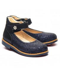 Ортопедические туфли Theo Leo 1302 р. 28-36 Синие