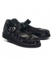 Ортопедические туфли Theo Leo 1285 р. 30-36 Черные
