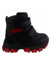 Ортопедические ботинки Minimen 67BLACK21 р. 21-25 Черный
