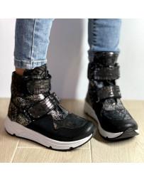 Ортопедические ботинки Perlina 107SEREBRO21 р. 31-36 Черный