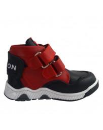 Ортопедические ботинки Perlina 91RED р. 22-26 Красно-синий