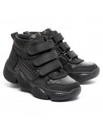 Ортопедические ботинки Theo Leo 1378 р. 28-35 Черные