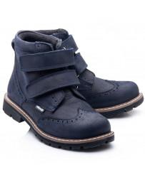 Ортопедические ботинки Theo Leo 807 р. 26-40 Синие