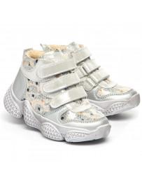 Ортопедические ботинки Theo Leo 1377 р. 21-30 Белые