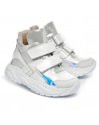 Ортопедические ботинки Theo Leo 1384 р. 26-36 Белые